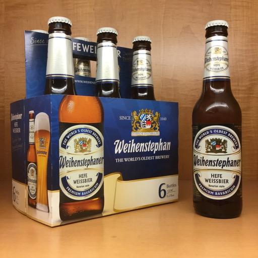 Weihenstephaner - Hefe Weisbier 330ml (11.2oz) Bottle 24pk Case