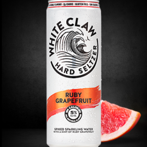 White Claw - Hard Seltzer Ruby Grapefruit 12oz Can Case