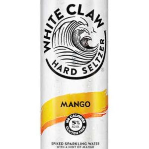 White Claw - Hard Seltzer Mango 12oz Can Case
