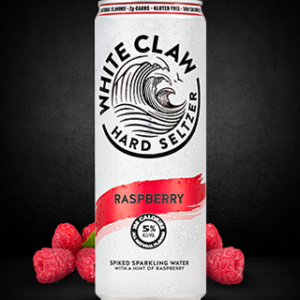 White Claw - Hard Seltzer Raspberry 12oz Can Case
