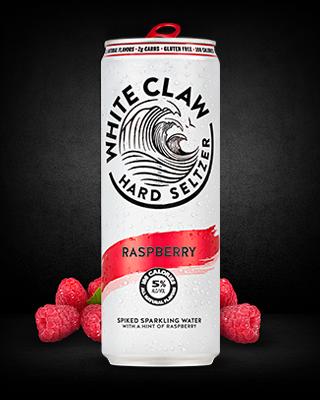 White Claw - Hard Seltzer Raspberry 12oz Can Case