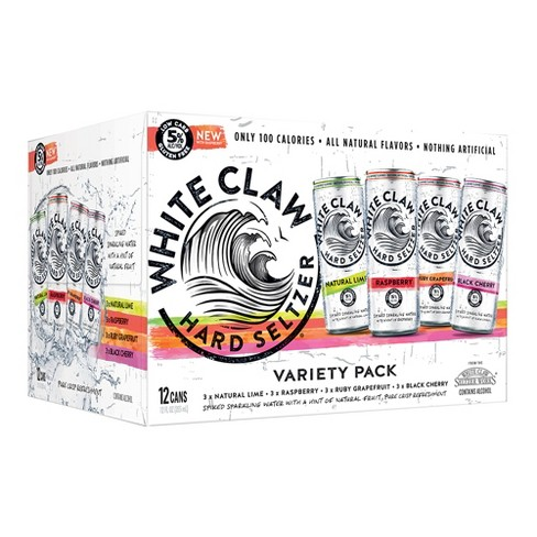 White Claw - Hard Seltzer Mix #1 12oz Can Case