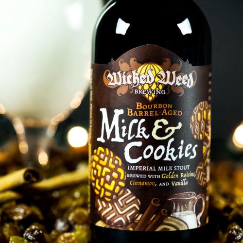 Wicked Weed - Bourbon Barrel-Aged Imperial Milk & Cookies 12.7oz Bottle 24pk Case