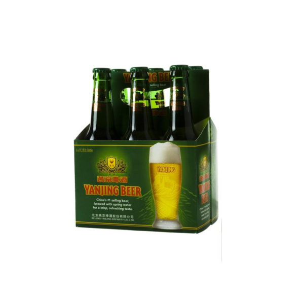 Yanjing - Lager 12oz Bottle 24pk Case