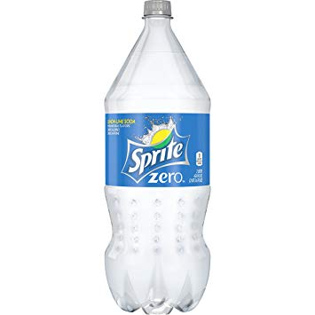 Diet Sprite - Zero 2 Liter Bottle (8 Pack) Case